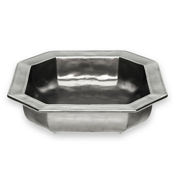 Juliska - Pewter Stoneware Square Baking Dish, 10.5""