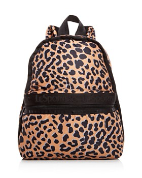 LeSportsac - Candace Leopard Print Backpack