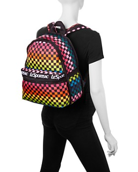 LeSportsac - Candace Rainbow Check Backpack