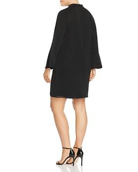 GLAMOROUS CURVY - Mock Neck Cutout Dress