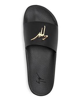 Giuseppe Zanotti - Men's Logo Slide Sandals