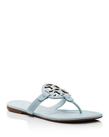 b1b375933cd45 Tory Burch - Women s Miller Leather Thong Sandals