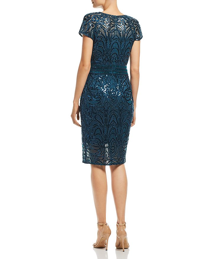 6dafa3fa740b5 Tadashi Shoji Sequin-Embroidered Dress | Bloomingdale's
