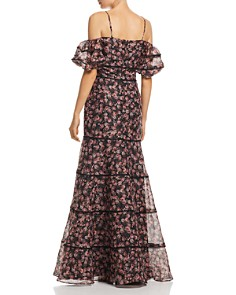 Keepsake - One Love Floral Print Gown