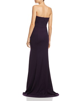 Bariano - Janie Sweetheart Strapless Gown