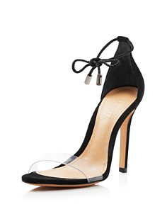 SCHUTZ - Women's Josseana Open Toe Nubuck High-Heel Sandals