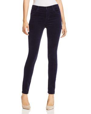 J Brand Maria Velvet Skinny Jeans in Night Out 3099649