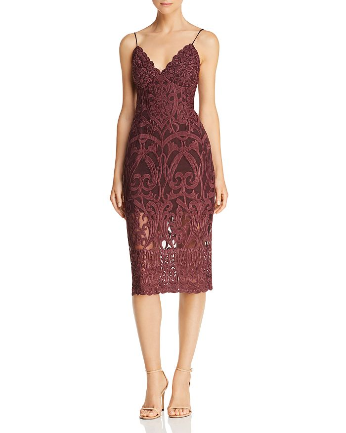 534011b35f41 Bardot Gia Lace Sheath Dress | Bloomingdale's