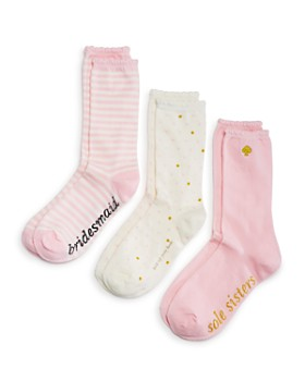 kate spade new york - Bridesmaid Crew Socks, Set of 3