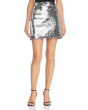 fa0b07798874 MILLY - Modern Sequined Mini Skirt ...