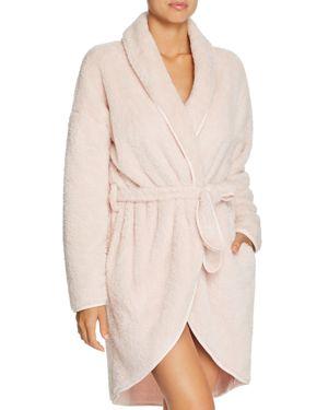 NATURAL SKIN Winnie Plush Cozy Wrap Robe in Pearl Pink