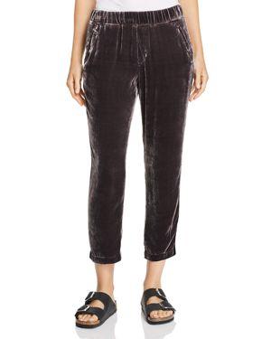 Bella Dahl Cropped Velvet Pants