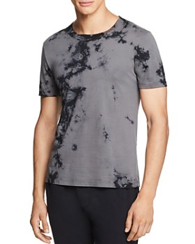 Helmut Lang - Back-Dart Tie-Dyed Graphic Tee