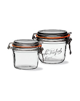 Le Parfait - Moyenne Medium Preserving Jars, Set of 8