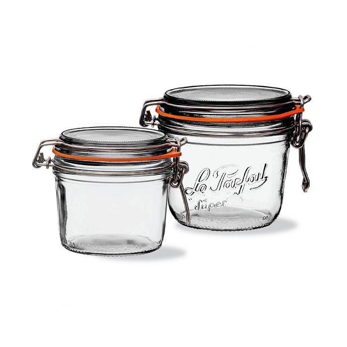 Le Parfait - Moyenne Medium Preserving Jars, Set of 8