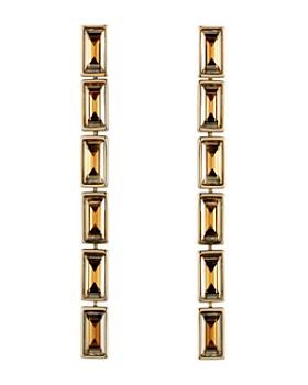 Atelier Swarovski - Fluid Linear Drop Earrings