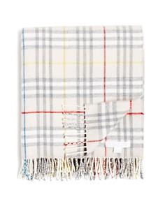 Burberry - Vintage Check Wool Baby Blanket