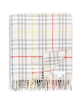 Burberry - Vintage Check Wool Baby Blanket