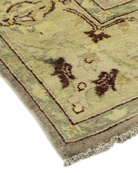 "Solo Rugs - Oushak Maarya Hand-Knotted Area Rug, 6'1"" x 9'5"""
