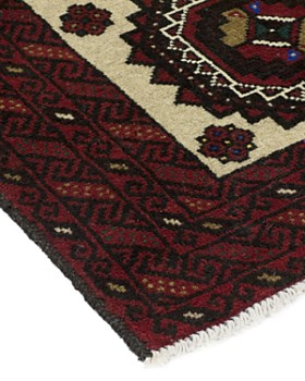 "Solo Rugs - Balouch Tajik Hand-Knotted Area Rug, 3'6"" x 6'2"""