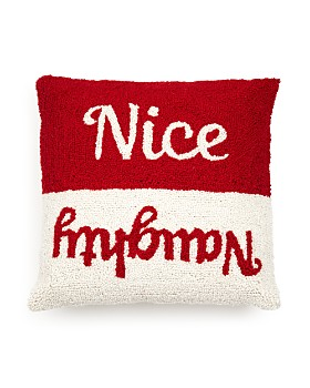 "Peking Handicraft - Nice Naughty Decorative Pillow, 16"" x 16"""