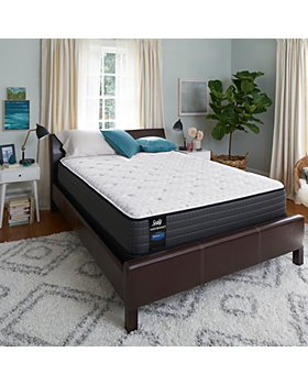 Sealy - Sealy Adams Street Cushion Firm Euro Pillow Top Mattress Only Collection - 100% Exclusive