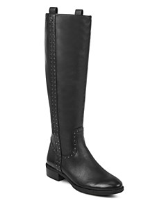 Sam Edelman - Women's Prina Round Toe Tall Leather Boots