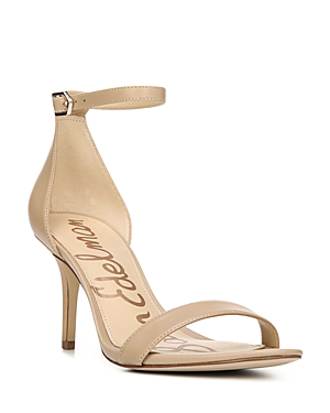 Take evening or everyday looks up a notch with slick and streamlined ankle-strap sandals by Sam Edelman.