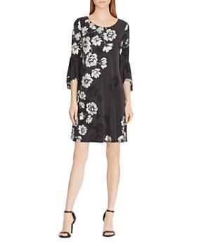 Ralph Lauren - Print Flutter-Sleeve Dress
