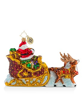 Christopher Radko - Stellar Ride, Santa! Ornament