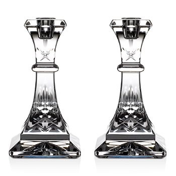 Waterford - Lismore Candlestick, Pair