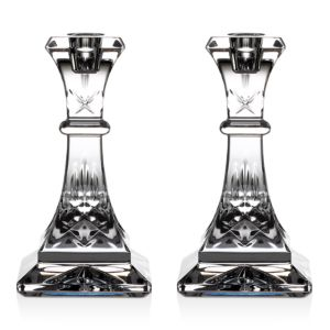 Waterford Lismore Candlestick, Pair