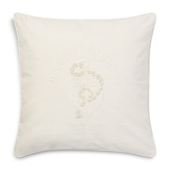 "Ralph Lauren - Lucille Decorative Pillow, 18"" x 18"" - 100% Exclusive"