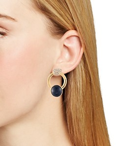 Trina Turk - Oversized Hoop Stud Earrings