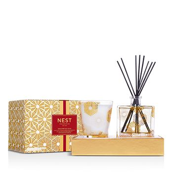 NEST Fragrances - Birchwood Pine Candle & Diffuser Set