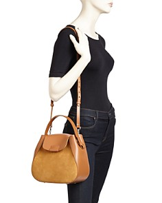 Nico Giani - Myria Medium Leather & Suede Crossbody
