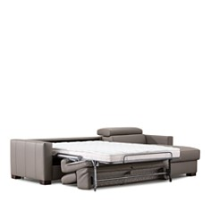 Giuseppe Nicoletti - Natalie Leather Sleeper Sectional