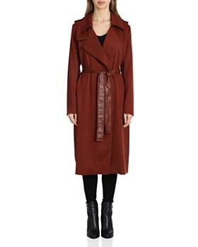 Badgley Mischka - Angelina Belted Trench Coat