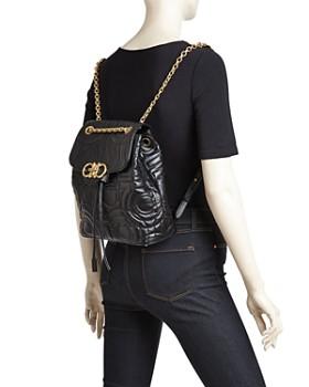 Salvatore Ferragamo - Medium Quilted Leather Backpack
