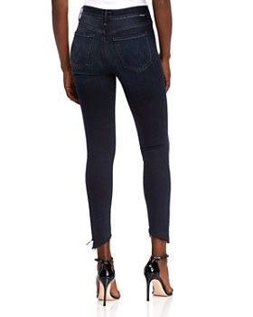 MOTHER - Stunner Frayed Step-Hem Skinny Jeans in Last Call