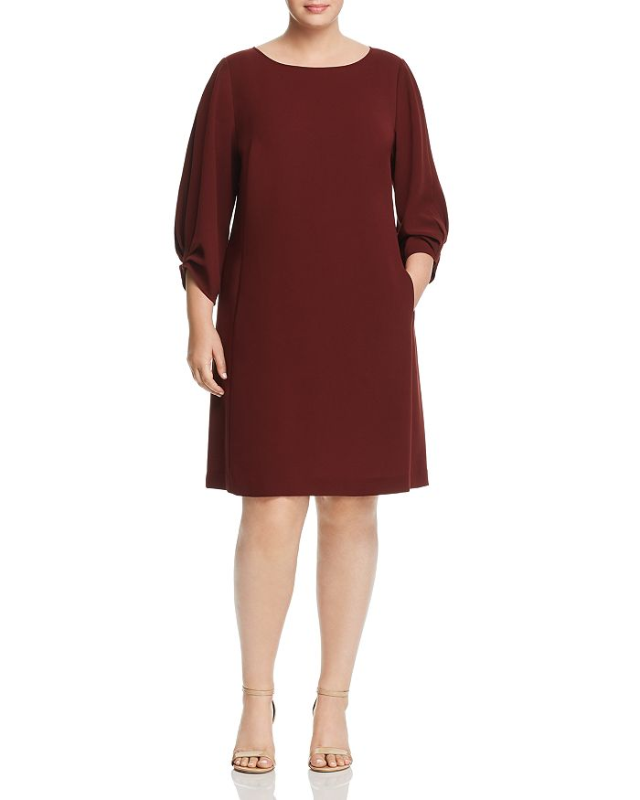 Lafayette 148 New York Plus - Wynona Shift Dress