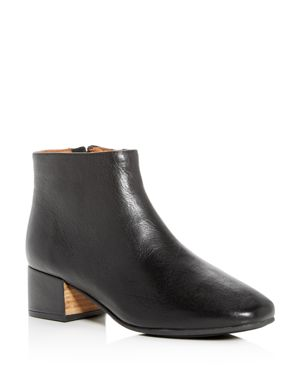 GENTLE SOULS BY KENNETH COLE By Kenneth Cole Ella Bootie in Black Leather