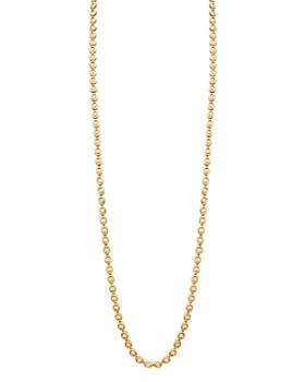 "Gumuchian - 18K Yellow Gold Oasis Diamond Link Necklace, 33"""