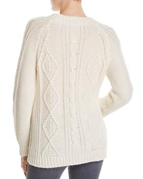 Gerard Darel - Marylin Cable-Knit Pullover - 100% Exclusive
