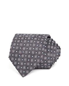 HUGO - Melange Geometric Neat Skinny Tie