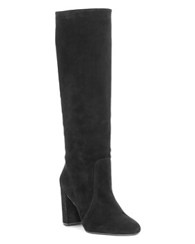 5820ffebe90ab VINCE CAMUTO - Women s Sessily Round Toe Slouchy High-Heel Boots - 100%  Exclusive ...