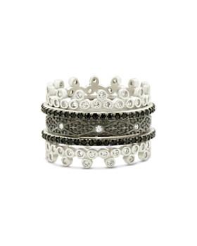 Freida Rothman - Industrial Five-Stack Ring