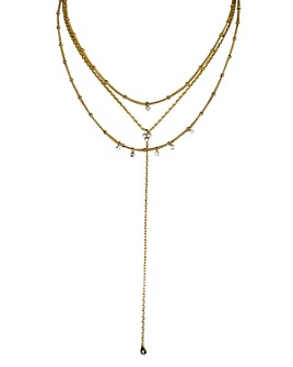 Jules Smith - Selina Lariat Necklace, 16""