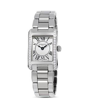 bae6e9f2c1c Frederique Constant - Classics Carree Diamond Watch