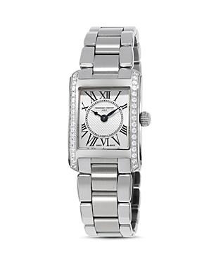 Frederique Constant Classics Carree Diamond Watch